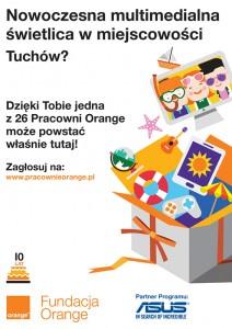 Głosujemy na pracownię ORANGE w Tuchowie!