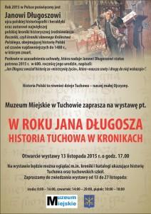 Historia Tuchowa w kronikach – rok poświęcony Janowi Długoszowi